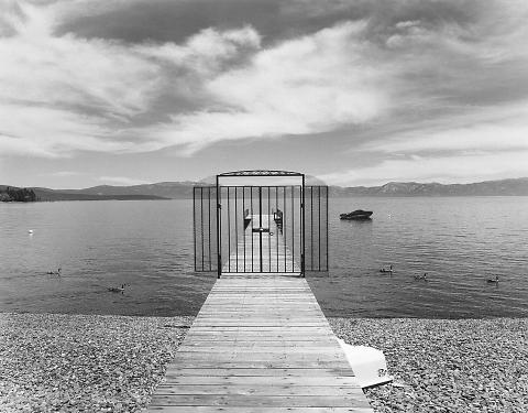 "Private Property, Lake Tahoe, California (from the ""Farewell, Promised Land"" Project"