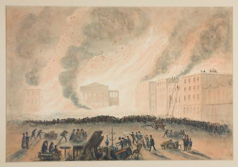 San Francisco Fire of 17 September 1850