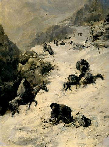 On the Way to the Summit (The Donner Party)  ((The Donner Party))