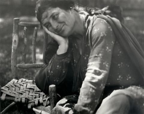 Untitled (Portrait of Joan Bowly, Dorothea Lange's Mother)
