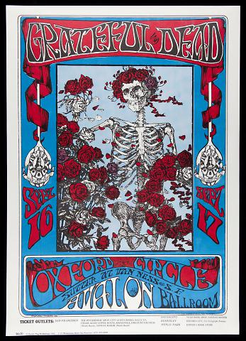 Untitled (Grateful Dead, Oxford Circle at Avalon Ballroom, San Francisco)
