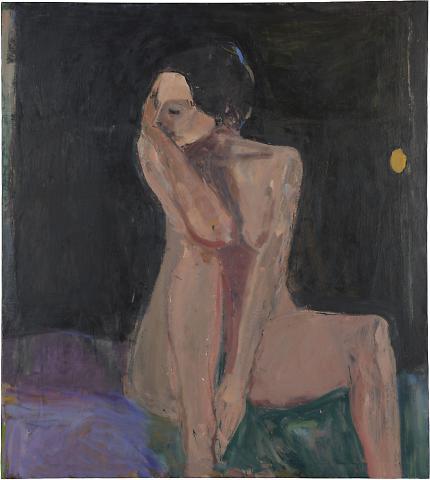 Seated Nude--Arm on Knee