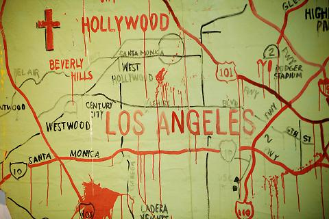 Untitled (Map of Los Angeles)