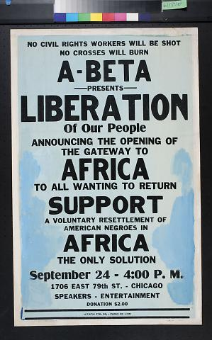 Liberation of Our People