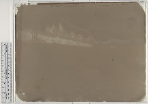 Construction Train on Embankment, Granite Canyon