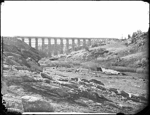 Valley and Bridge of Dale Creek, General View