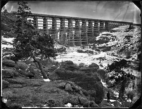 Dale Creek Bridge from Above, No. 2