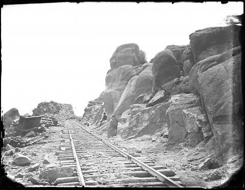 Rock Cut No. 3, West of Dale Creek Bridge