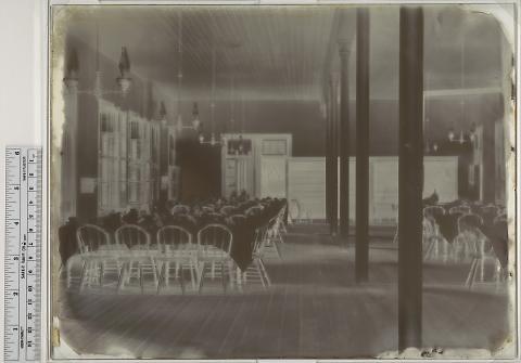 Railroad Hotel Dining Room, Laramie