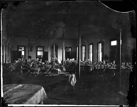 Interior of Dining Room at Laramie, No. 1