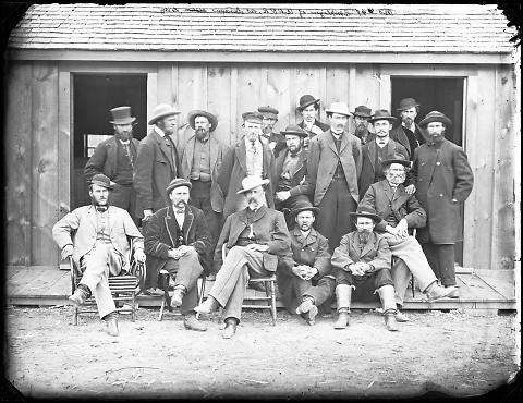 Employees of U.P.R.R. at Laramie City