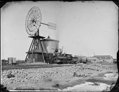 Wind Mill, Laramie City