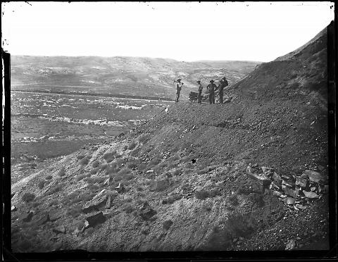 Bitter Creek Valley from Coal Mines near Point of Rocks