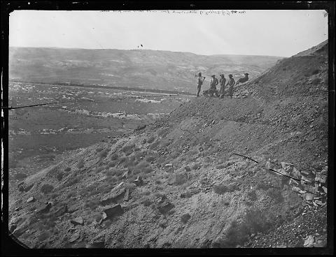 Valley of Bitter Creek from Coal Mines near Point Rocks