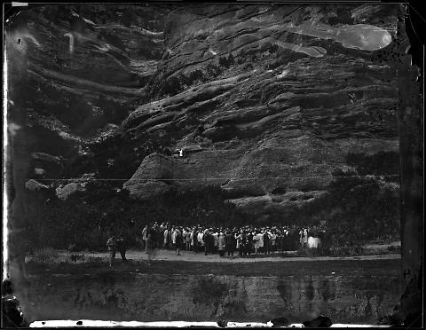 Grand Lodge of the Odd Fellows, Holding Meeting, Echo Canyon
