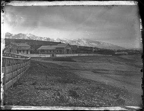 Brigham's Bath House, Hot Sulphur Springs, Salt Lake City