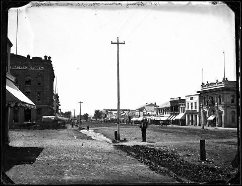 Looking Down Temple Street, Salt Lake