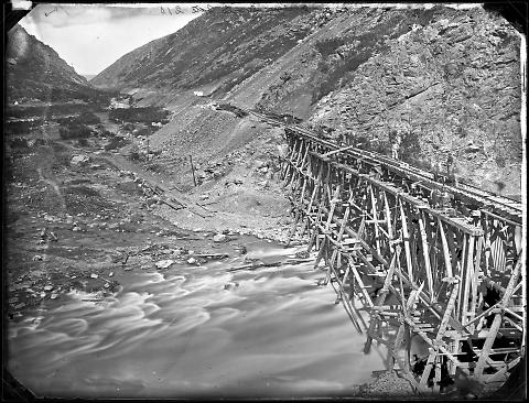 Temporary Bridge, Devils Gate