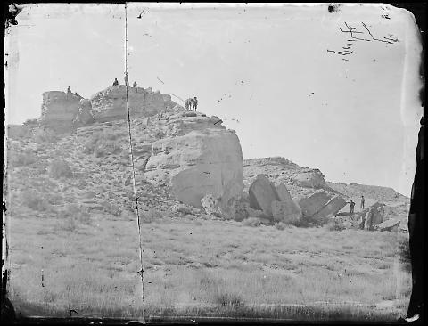 Reed's Rock, Sherman Summit of U.P.R.R.
