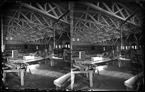 Interior of Carpenter Shops, Omaha