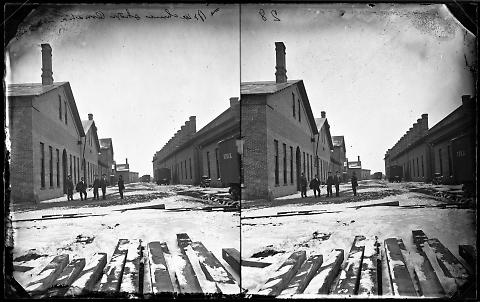 Machine Shops, Omaha, Looking West