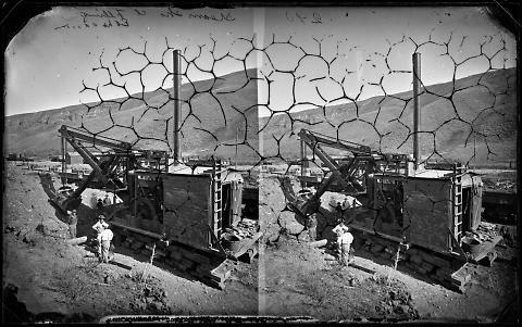 Steam Shovel Filling, Echo Canyon