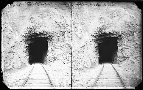 Tunnel No. 4, Weber Canyon, Eastern Portal