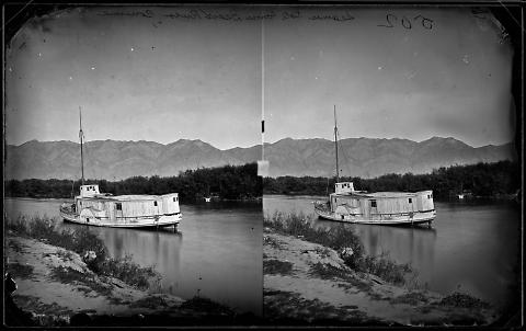 Steamer Kate Conner, Bear River, Corinne