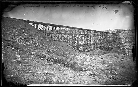Great Trestle Work, Promontory
