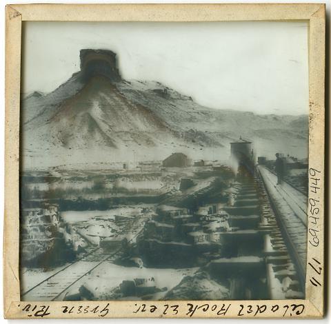 Citadel Rock Elevation, Green River