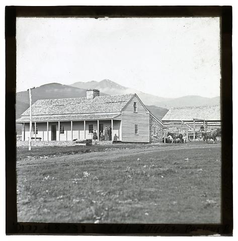 Residence of Mormon Bishop, Parley's Park