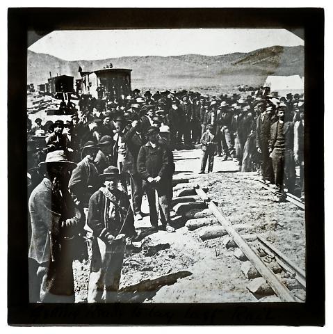 Before Laying the Last Rail, Promontory, Utah