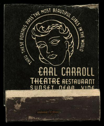 Earl Carroll Theatre Restaurant