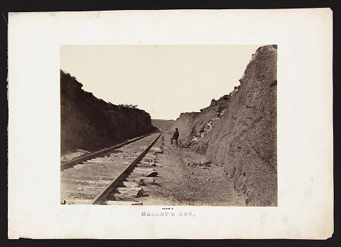 Malloy's Cut from The Great West Illustrated in a Series of Photographic Views Across the Continent
