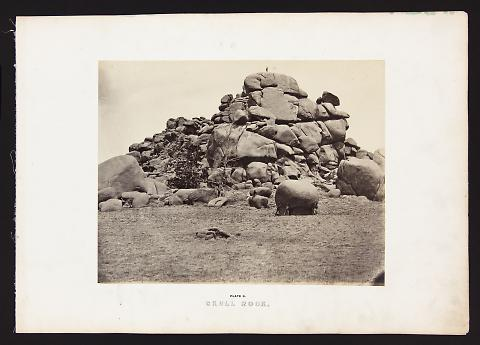 Skull Rock from The Great West Illustrated in a Series of Photographic Views Across the Continent