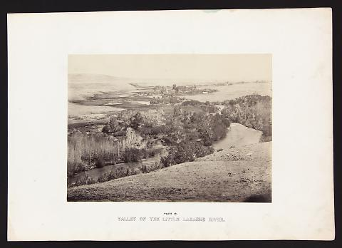 Valley Of The Little Laramie River from The Great West Illustrated in a Series of Photographic Views Across the Continent