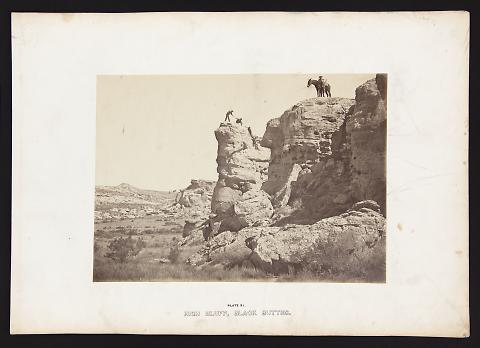 High Bluff, Black Buttes from The Great West Illustrated in a Series of Photographic Views Across the Continent