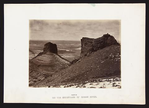 On The Mountains of Green River from The Great West Illustrated in a Series of Photographic Views Across the Continent