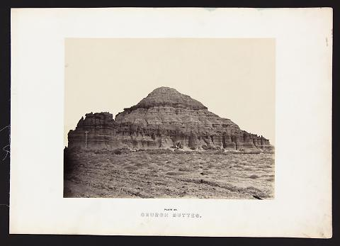 Church Buttes from The Great West Illustrated in a Series of Photographic Views Across the Continent
