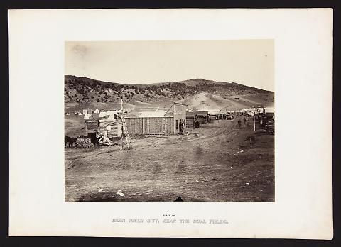 Bear River City, Near The Coal Fields from The Great West Illustrated in a Series of Photographic Views Across the Continent