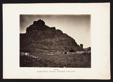 Sentinel Rock, Weber Valley from The Great West Illustrated in a Series of Photographic Views Across the Continent