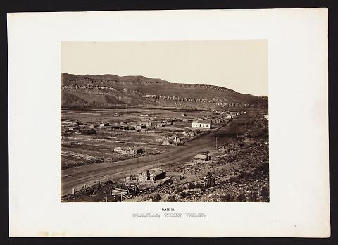 Coalville, Weber Valley from The Great West Illustrated in a Series of Photographic Views Across the Continent