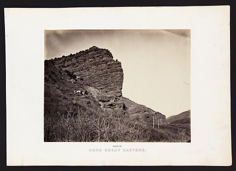 Rock Great Eastern from The Great West Illustrated in a Series of Photographic Views Across the Continent