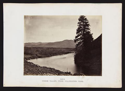 Weber Valley, From Willhelmina Pass from The Great West Illustrated in a Series of Photographic Views Across the Continent