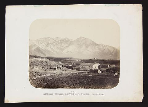 Brigham Young's Cotton and Woolen Factories from The Great West Illustrated in a Series of Photographic Views Across the Continent