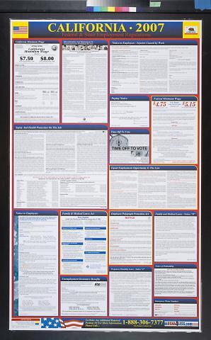 California 2007: Federal & State Employment Regulations