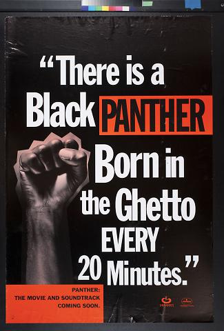 There is a Black Panther Born in the Ghetto Every 20 Minutes