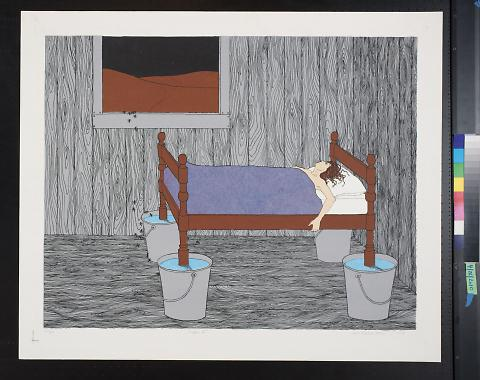 untitled (woman in a bed)