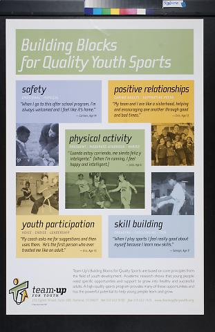 Building Blocks for Quality Youth Sports