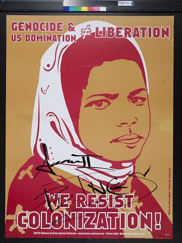 We Resist Colonization